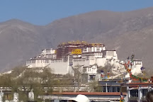 Barkhor Street, Lhasa, China