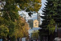 Leonard Cohen Mural, Montreal, Canada