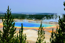 Grand Prismatic Spring, Yellowstone National Park, United States