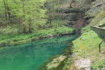 Source de l'Ain, Nozeroy, France