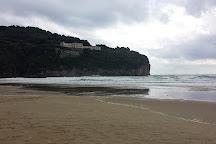 Spiaggia di Serapo, Gaeta, Italy