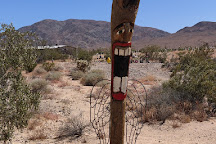 The Glass Outhouse Art Gallery, Twentynine Palms, United States
