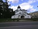 Храм Воскресения Христова со Стадища, улица Набат, дом 3 на фото Пскова