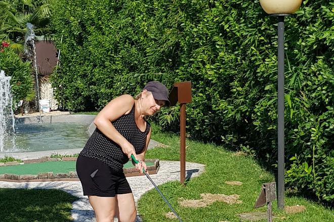 Adventure Golf, Jesolo, Italy