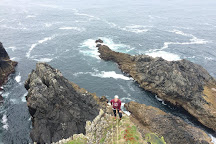 Donegal Climbing, Malin Head, Ireland