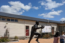 Sir Colin Meads Statue, Te Kuiti, New Zealand