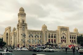 Железнодорожная станция  Baku Pass