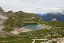Lago di Coldai, Zoldo Alto, Italy