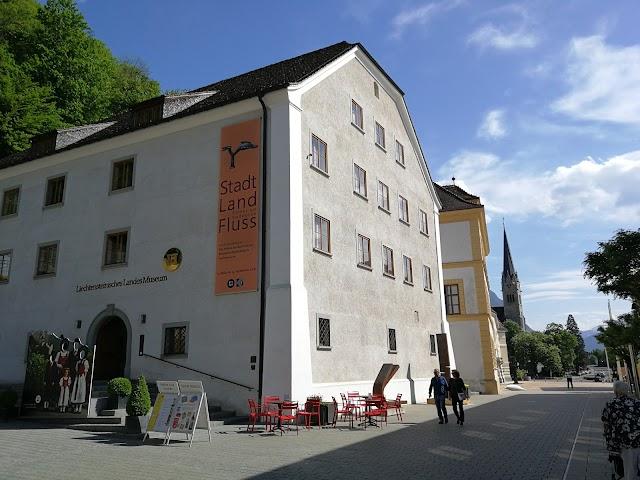 Liechtensteinisches Landes Museum / Liechtenstein National Museum.