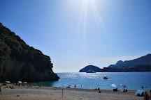 Rovinia Beach, Paleokastritsa, Greece