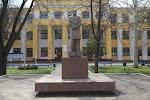 Памятник Шевченко на фото Тирасполя