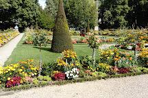 Le Jardin de l'Archeveche, Bourges, France