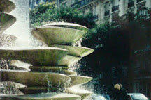 Fontaine des Polypores, Paris, France
