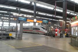 Станция  München Hauptbahnhof