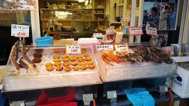 Donburi Yokocho Market (hakodate morning market)