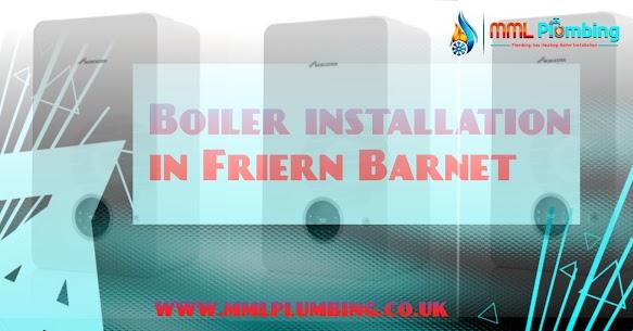 boiler installation in Friern Barnet