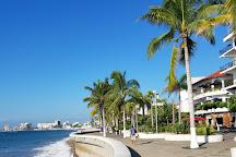 Malecon Boardwalk, Puerto Vallarta, Mexico