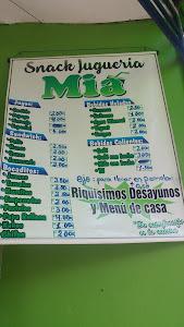 Snack Juguería Mia 5