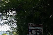 Statua di San Colombano, Bobbio, Italy