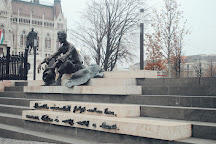 Sitting Statue of Attila Jozsef, Budapest, Hungary