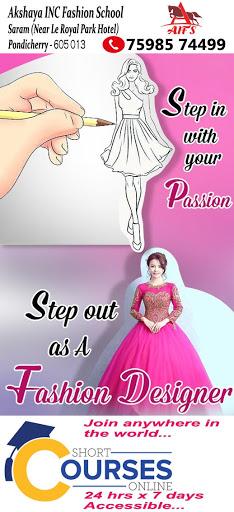 Akshaya Inc Fashion Women S Fashion Design School In Puducherry