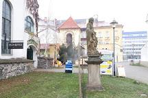 Kostel svateho Jana Krtitele, Pardubice, Czech Republic