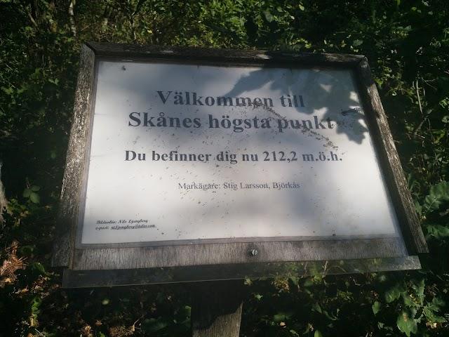 Skånes Högsta Punkt