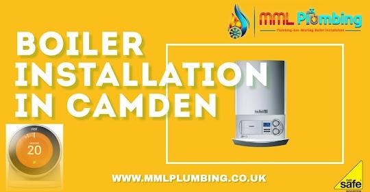 boiler installation offer in Camden