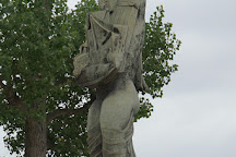 Le Messager Zadkine, Paris, France