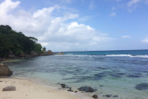 Bel Ombre Beach at La Scala, Mahe Island, Seychelles