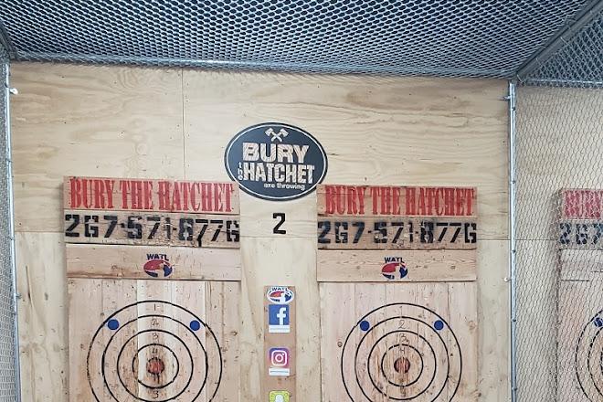 Visit Bury The Hatchet Bensalem - Axe Throwing on your trip