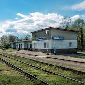 Железнодорожная станция  Louny Mesto