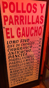 Pollos y Parrillas EL GAUCHO 1