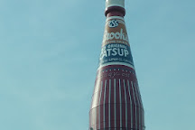 World's Largest Catsup Bottle, Collinsville, United States