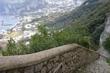 Scala Fenicia (Phoenician Steps), Anacapri, Italy