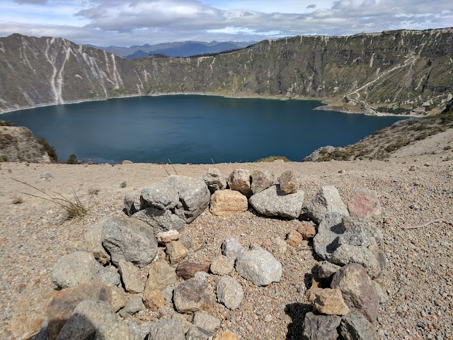 Viewpoint Quilotoa Lake