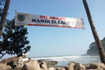 Karang Bolong Beach, Kebumen, Indonesia