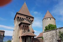 The Chateau de Chenaux, Estavayer-le-Lac, Switzerland