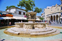 Morosini Fountain (Lion's Fountain), Heraklion, Greece
