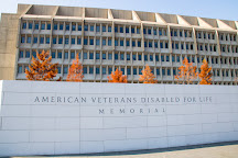 The American Veterans Disabled For Life Memorial, Washington DC, United States
