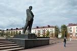 Lenin Monument на фото Бобруйска