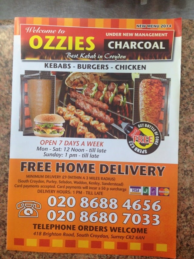 Ozzies Charcoal