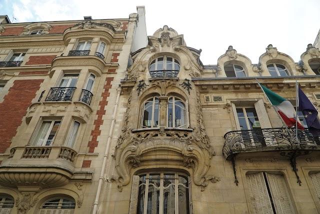 Hôtel art nouveau