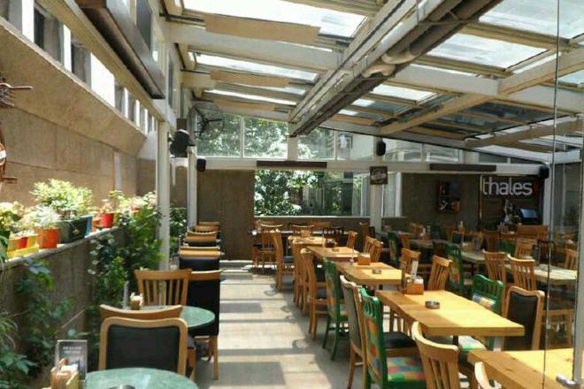 Thales Cafe, Istanbul, Turkey