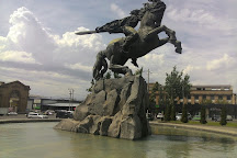 Sasuntsi Davit Statue, Yerevan, Armenia