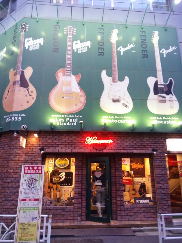 Ikebe musical instrument store Hartman vintage Guitars