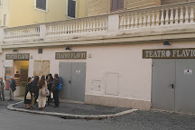 Teatro Flavio, Rome, Italy