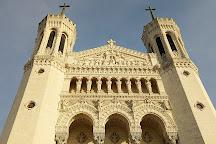 Basilique Notre Dame de Fourviere, Lyon, France