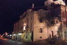 Singing fountain, Kosice, Slovakia