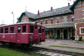 Железнодорожная станция  Lednice